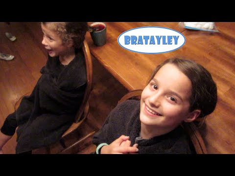 Dip Dyeing Our Hair with Kool Aid (WK 234.7) | Bratayley
