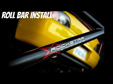S2000 Rockstar Garage Roll bar