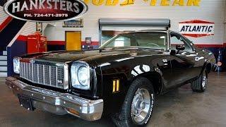 1975 Chevrolet El Camino featured in movie 'Black Mass' starring Johnny Depp
