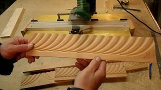 Декор на деревянной панели. Applying Decor On A Wooden Panel.