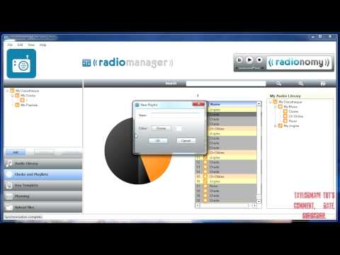 How to make your own  FREE 24/7 Web Radio Station (with Radionomy) - PART 2 (HD)