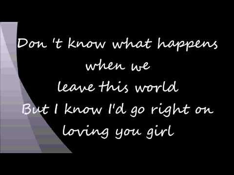 One Great Mystery (with Lyrics) -Lady Antebellum