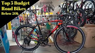 Top 5 Budget Road Bikes Below 20,000Php
