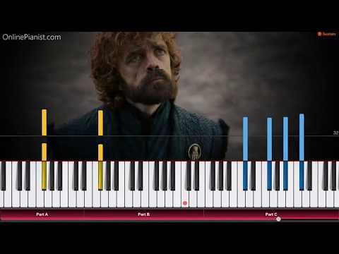 Game of Thrones - Season 8 Trailer - Piano Tutorial / Piano Cover thumbnail