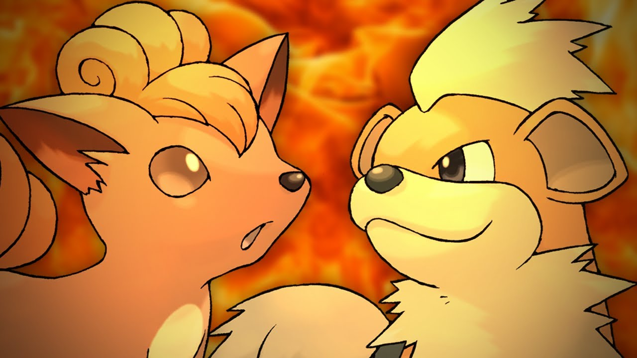Cute Vulpix Wallpaper Vulpix Vs Growlithe Epic Rap Battles Of Pokemon 2 Youtube