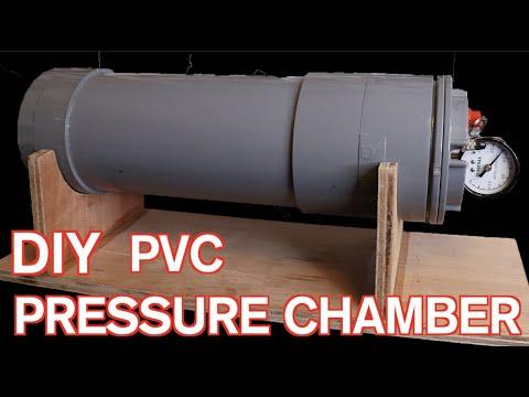 気泡ゼロ、プレッシャーポンプの作り方 How to make pressure chamber for resin casting.