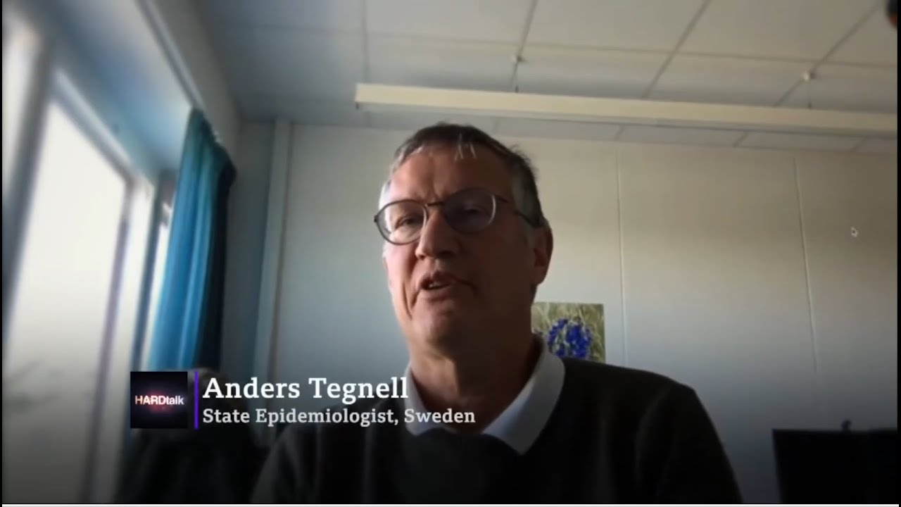 Anders Tegnell Confirms That Is No Science Between Lockdowns These Are Also Not Ethical Youtube