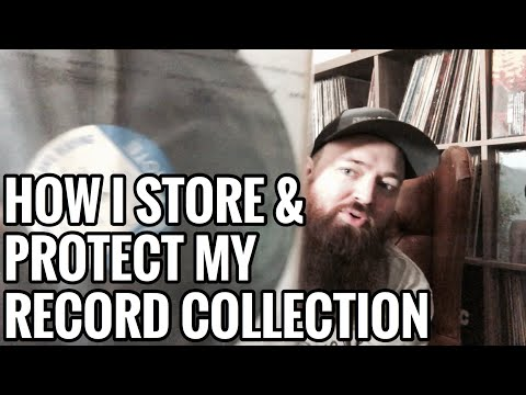 How I Store & Protect My Record Collection, Inner & Outer Sleeves, Tips & Tricks