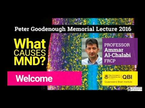 What causes MND – 2016 Peter Goodenough Memorial Lecture