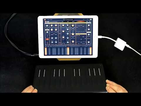 How To Connect VOLT Synth To A Roli SEABOARD Block MPE Keyboard