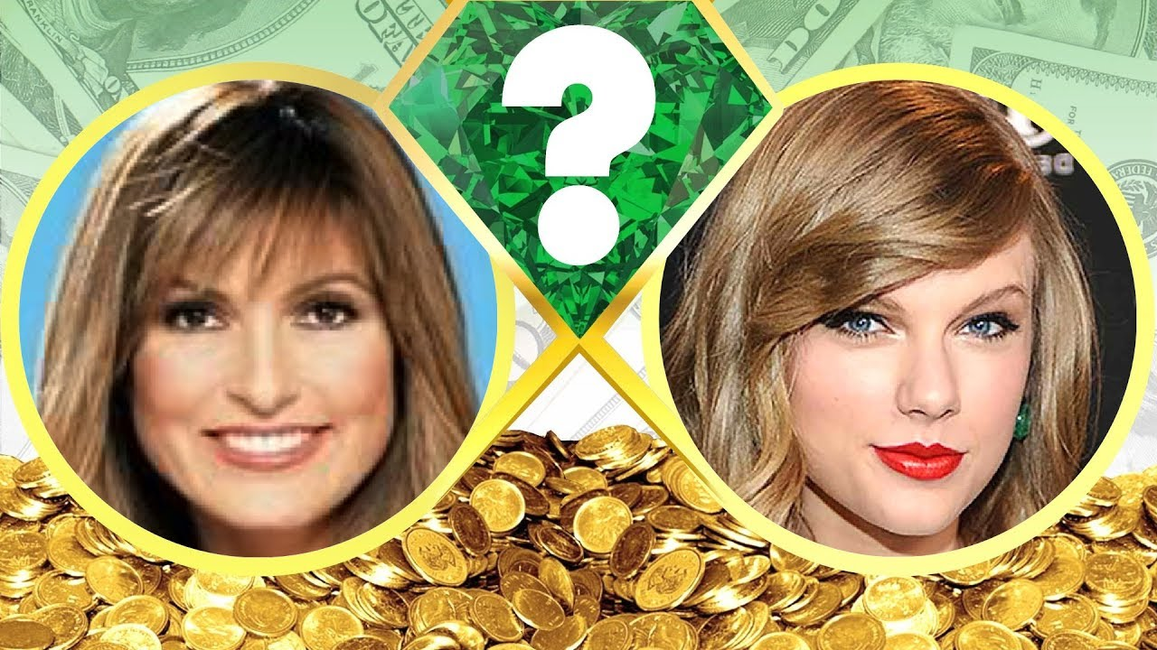 WHO'S RICHER? - Mariska Hargitay or Taylor Swift? - Net ...