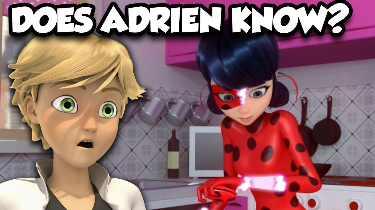 Does Adrien Actually Know Marinette Is Ladybug? | Chat Knows All? |  Identity Revealed?