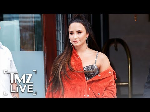Demi Lovato Seen For First Time Since OD | TMZ Live