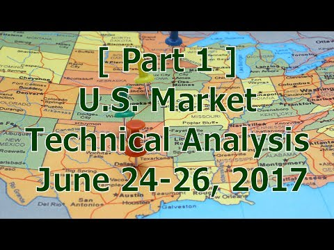[ Part 1 ] U.S. Market Technical Analysis June 24-25, 2017