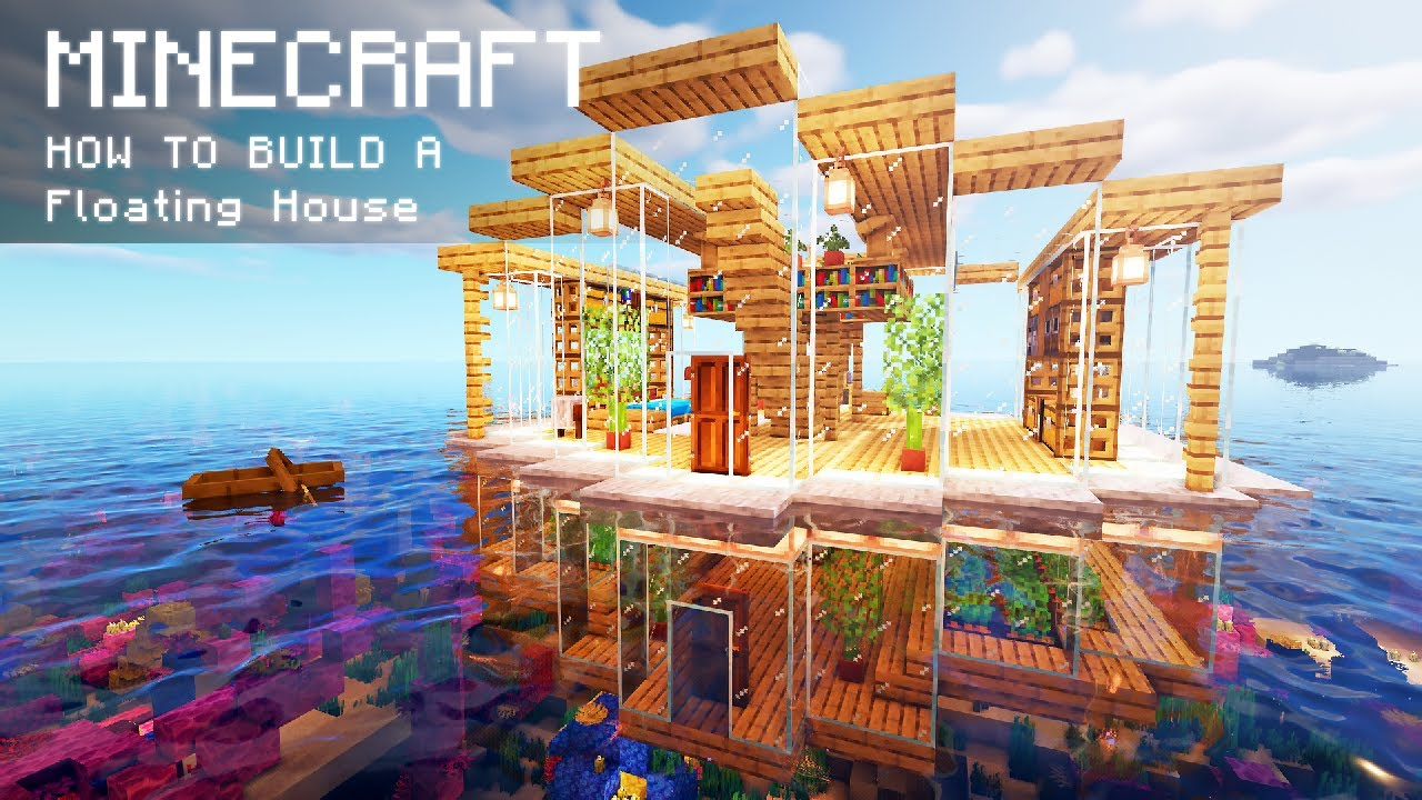 Minecraft: How To Build a Floating House