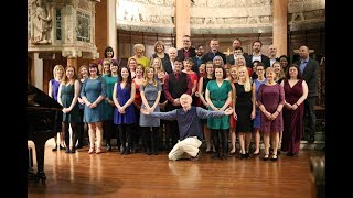 "Singing ""I Can't Believe It's Not Rutter"" to John Rutter 