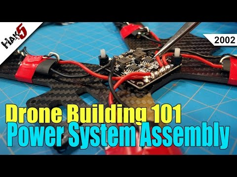 Power System Assembly - Drone Building 101 - Hak5 2002