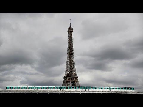 شلل في باريس بسبب اضراب عمال وسائل النقل احتجاجا على تعديل قانون التقاعد…  - 01:53-2019 / 9 / 14