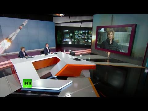 Жена космонавта Алексея Овчинина в эфире RT — LIVE