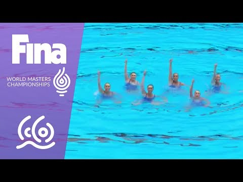 RE-LIVE - Synchro Day 7: Mixed Duet Free, Free Comb. | FINA World Masters Championships 2017