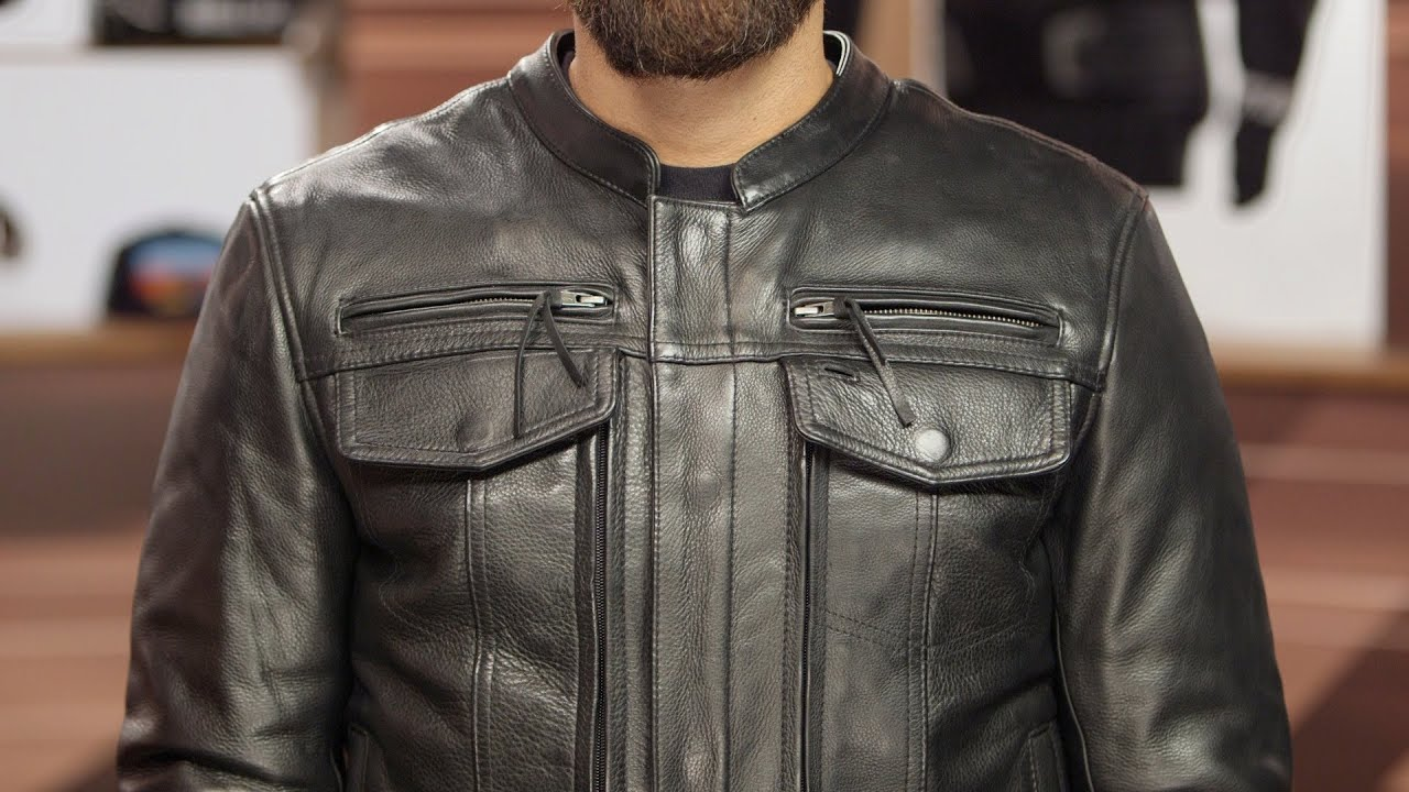 First Manufacturing Mens Hipster Motorcycle Jacket