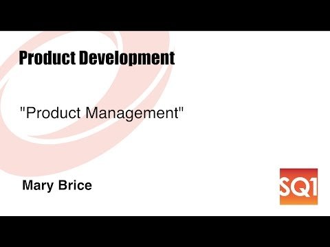 Product Management — Mary Brice