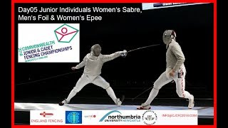 Day05 Commonwealth Junior & Cadet Fencing Championships 2018 - Piste Red