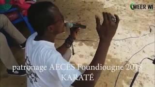 patronage AECES Foundiougne 2018-KARATE