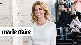 Ivanka Trump Made an Embarrassing Mistake While in Rome and More News | Marie Claire