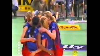 Scudetto 2002 Semifinale - Gare 1 e 2 - Foppapedretti Bergamo vs Despar Perugia