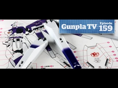 Gunpla TV - 159 - Hi Nu Ver Ka - How to Apply Decals - Hlj.com