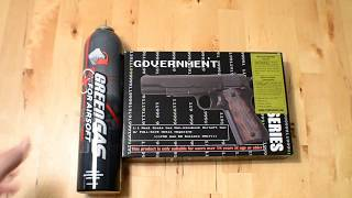 Unboxing 1911 NON-BLOWBACK HEAVY WEIGHT GAS PISTOL [STTI] from TaiwanGun.com