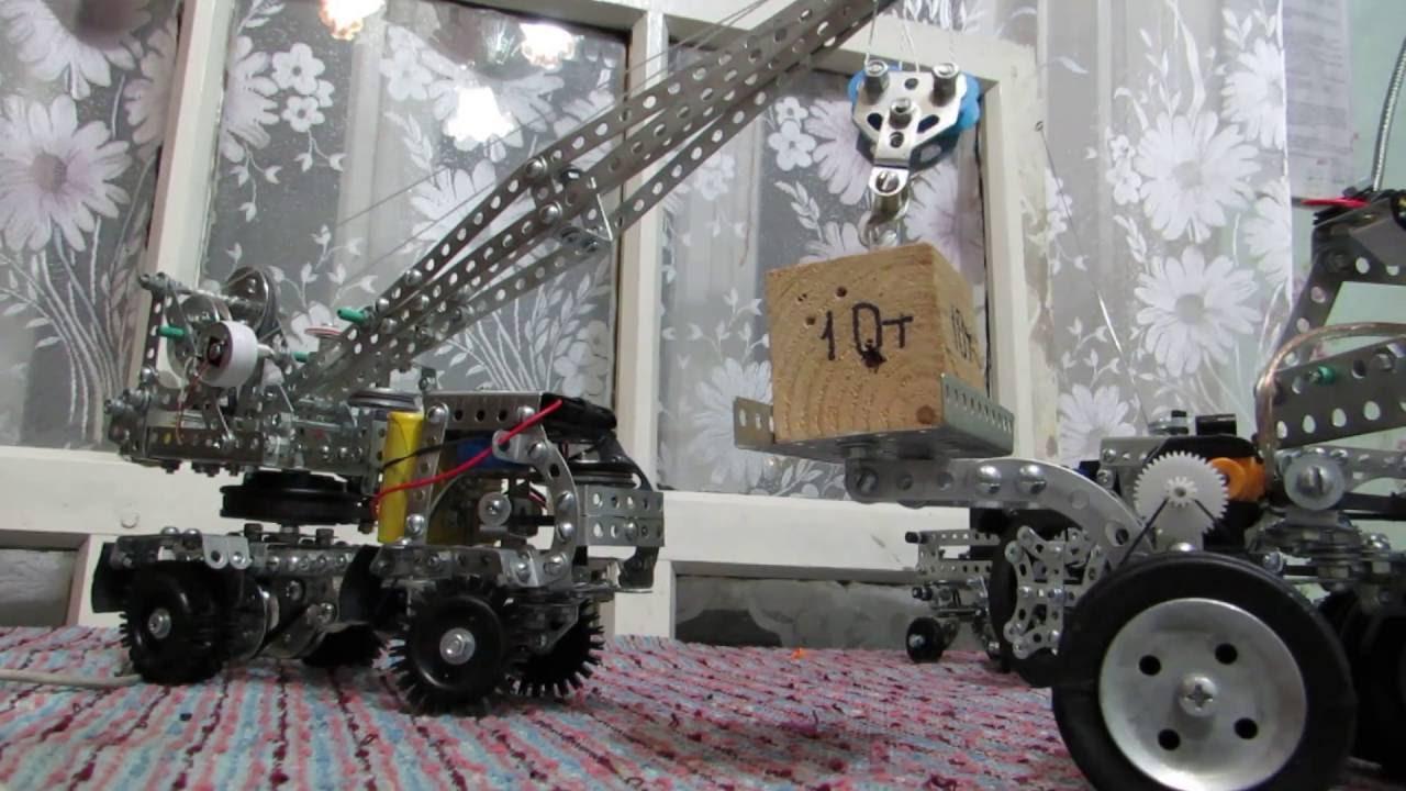 Как сделать кран из конструктора фото 951