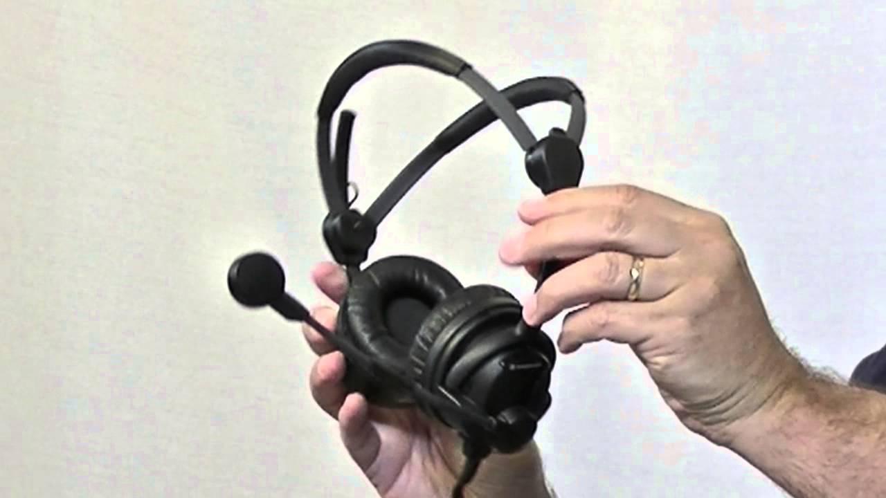 074ca96b18c BSW Presents: Sennhesier HMD-26-II Headset - YouTube