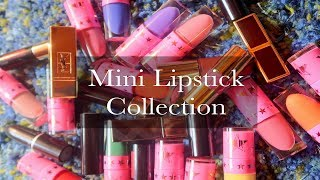 My Mini Lipstick Collection [With Swatches!] || MAP Beauty
