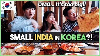 Korean Visit Indian Restaurant In Korea│KimchiCurrySmile