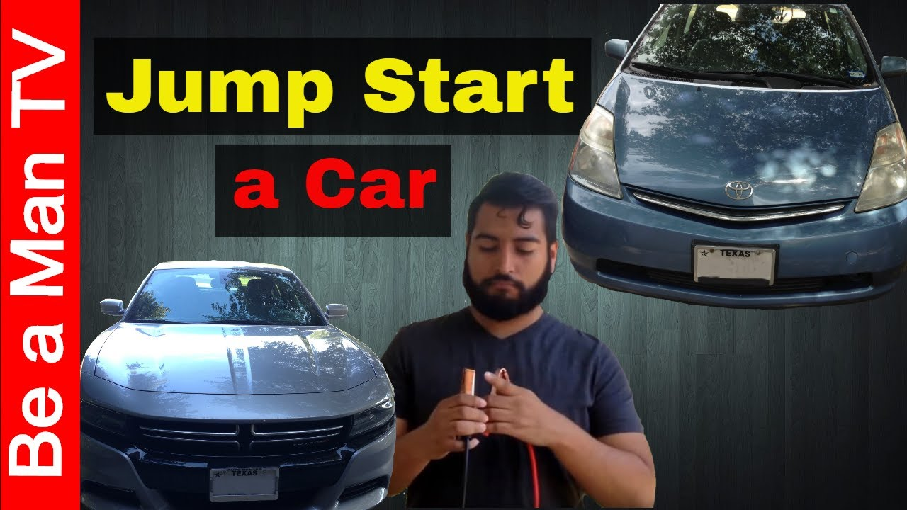 Jump Start A Car With Prius