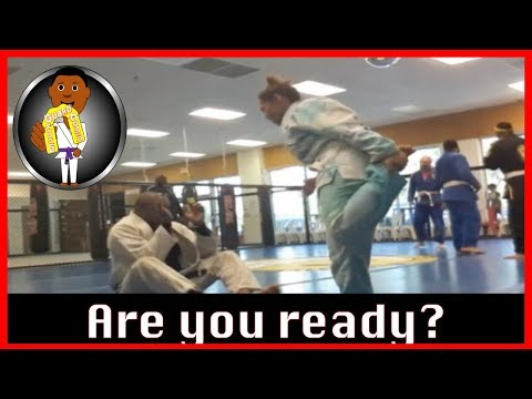 BJJ Roll No  99   Are you Ready?   Bakari w Ayana   at Smiley Academy