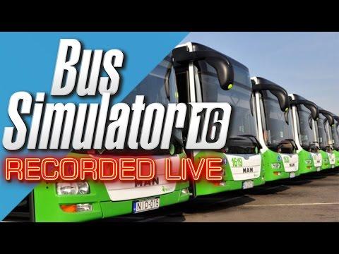 Sim UK FIRST EVER Live Stream Bus Simulator 16