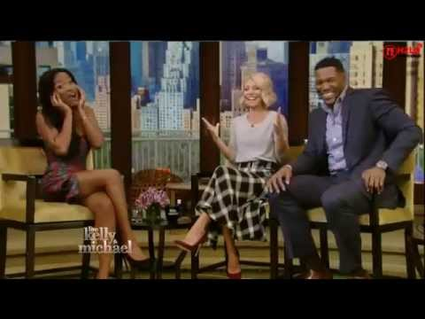 Keke Palmer Interview - Live with Kelly and Michael 09/22/15