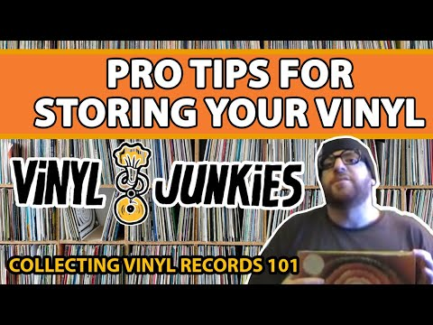 Vinyl care tips: Caring for and storing your records