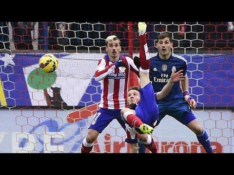 Atlético de Madrid 4-0 Real Madrid | Goles | COPE | 07/02/2015