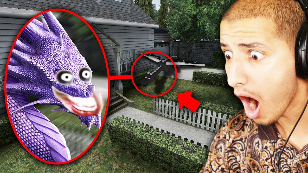 If You See CURSED ENDER DRAGON Outside Your House, RUN AWAY FAST!! (Scary)