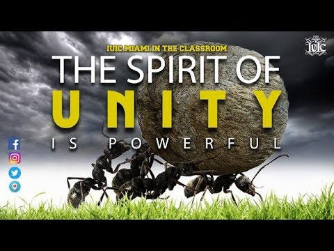 The Israelites: The Spirit Of Unity Is Powerful