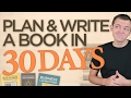 How to Plan Your Book and Write in Less than 30 Days (Mind-map)