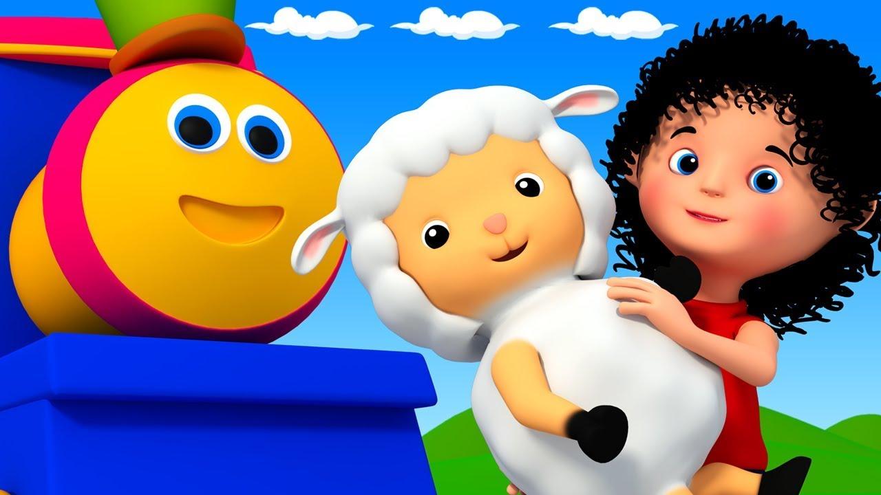 แมรี่มีแกะตัวเล็ก | รถไฟบ๊อบ | เพลงเด็ก | Kids Song | Mary Had A Little Lamb