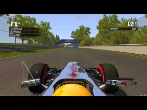 F1 2011 - Formula one 2011 - NEW Gameplay (PS3) - Lewis Hamilton