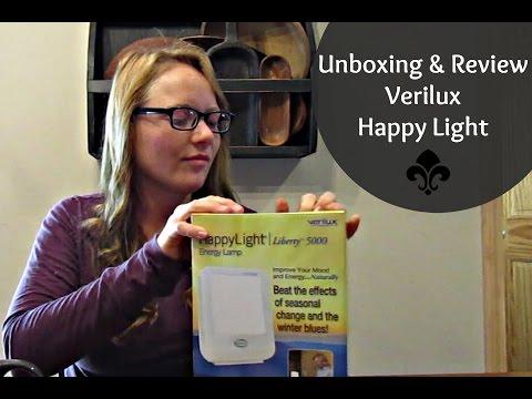 Unboxing & Review of Verilux Happy Light | SAD light