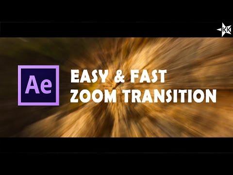 After Effect Tutorial | ZOOM TRANSITION [Sam Kolder Style]