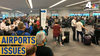 Computer Issue Snarls Immigration Processing at US Airports | NBC New York